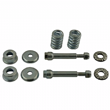 JEEP WRANGER FRONT EXHAUST FRONT PIPE FITTING KIT BOLTS & SPRINGS EMK002